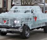 Ένα παγωμένο ημιφορτηγό