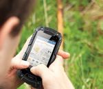 Ένα smartphone παρέα στο κυνήγι