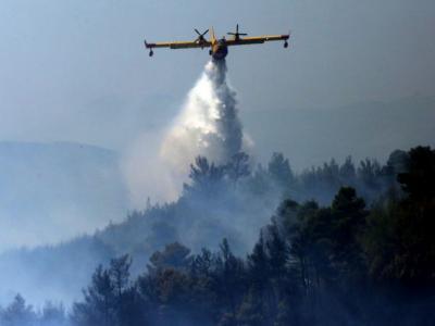 Πυρκαγιές: στα ίδια η Ελλάδα, στα κόκκινα η Μεσόγειος