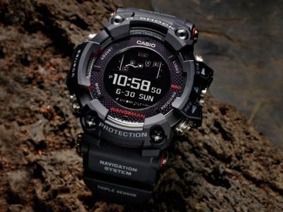Casio G-Shock Rangeman GPRB 1000 με ενσωματωμένο GPS