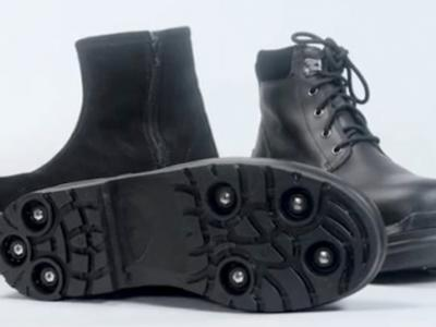 Μπότες με... αόρατα καρφιά στη σόλα από τη Σουηδία
