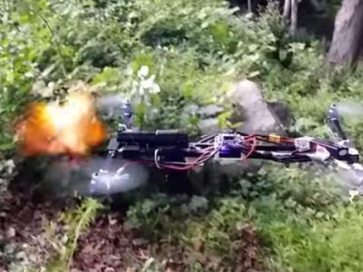 Ένα όπλο πάνω σε Drone
