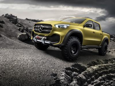 H Mercedes παρουσιάζει το X-Class concept
