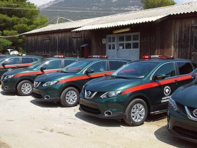Ενίσχυση δασικών υπηρεσιών με νέα οχήματα
