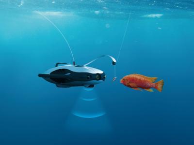 Ένα drone που βοηθά στο ψάρεμα!