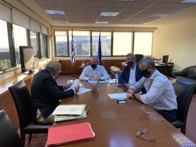 Συνάντηση ΚΣΕ με τον Υφυπουργό Περιβάλλοντος και Ενέργειας