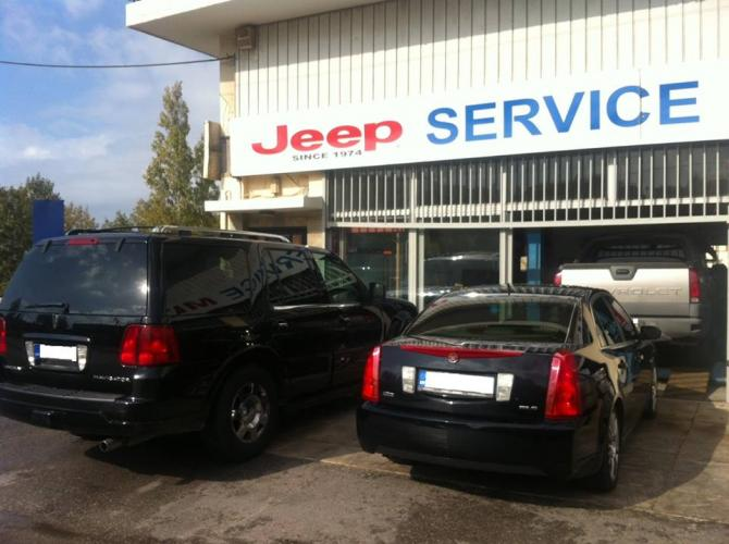 MITAS JEEP Service